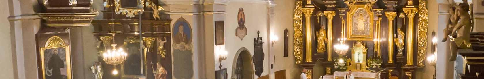 Msze św. i nabożeństwa