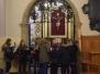 Poświęcenie medalików z Matką Bożą Niepokalaną dla dzieci komunijnych